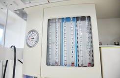 Anesthesia machine at hospital operating room Stock Photos