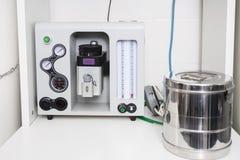 Anesthesia Machine In Vet Clinic Stock Photo