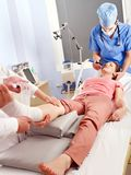 Anesthesia for surgery. Royalty Free Stock Image
