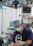 Anesthesiologist dentro O fotografia stock libera da diritti