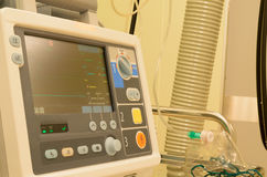 Anesthesiologists στο λειτουργούν δωμάτιο πριν από τη χειρουργική επέμβαση Στοκ Εικόνες