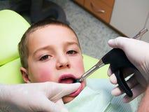 Anethesia dentale immagine stock