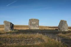 Aneurin Bevan Stones, Tredegar, Wales Royalty-vrije Stock Foto's