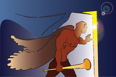 aneurysmen stock illustrationer