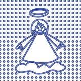 aneurysmen julen mönsan seamless royaltyfri illustrationer