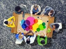 Anförande bubblar begrepp för idé för kommunikation för meddelandebegreppssymbol Arkivfoto