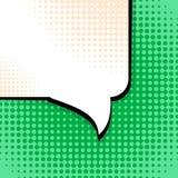 Anförandebubblapop Art Background Stock Vector Illustration Royaltyfri Illustrationer