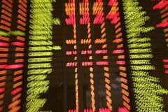 Anführungsstriche an einer Börse Lizenzfreie Stockfotografie