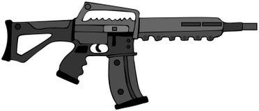 Anfalla geväret Royaltyfri Foto