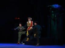 "AnfallLag-Peking opera som ""Taking Tiger Montain By Strategyâ € Royaltyfria Foton"