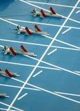 Anfang von 100m Lizenzfreies Stockfoto