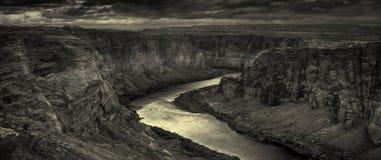 Anfang von Grand Canyon Stockbilder