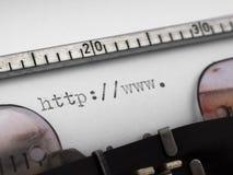 Anfang von URL Stockbilder