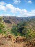 Anfang von Waimea-Schlucht, Kauai, Hawaii Lizenzfreie Stockfotografie