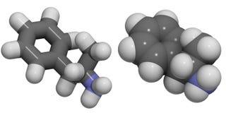 Anfetamina (alfa-methylphenetylamine, velocità) Immagini Stock Libere da Diritti