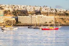 Anfi del Mar, νησί θλγραν θλθαναρηα, Ισπανία Στοκ φωτογραφία με δικαίωμα ελεύθερης χρήσης