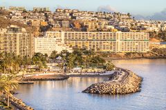 Anfi del Mar, νησί θλγραν θλθαναρηα, Ισπανία Στοκ φωτογραφίες με δικαίωμα ελεύθερης χρήσης