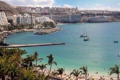 Anfi Del Mar παραλία σε θλγραν θλθαναρηα, Ισπανία Στοκ φωτογραφίες με δικαίωμα ελεύθερης χρήσης