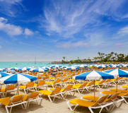 Anfi del Mar Anfidelmar beach in Gran Canaria. Canary Islands royalty free stock images