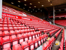 Anfield statdium, Liberpool, UK Stock Photos