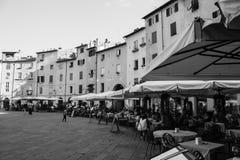 Anfiteatro τετραγωνικό Lucca Στοκ φωτογραφία με δικαίωμα ελεύθερης χρήσης
