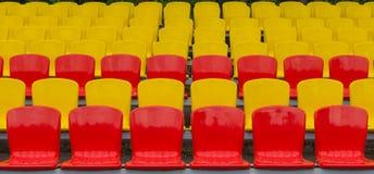 anfiteatro Amarelo-vermelho Foto de Stock Royalty Free