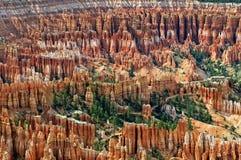 Anfiteatro a Bryce Canyon Immagini Stock