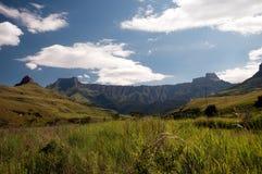 Anfiteatro de Drakensberg Imágenes de archivo libres de regalías