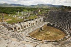 Anfiteatro de los Aphrodisias Fotos de archivo libres de regalías