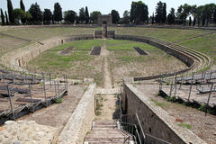 Anfiteatro de Lucera Imagem de Stock Royalty Free