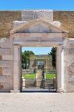 Anfiteatro de Lucera. Puglia. Italia. imagens de stock