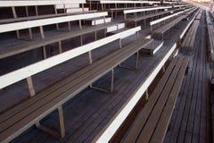 Anfiteatro de madeira vazio Imagem de Stock Royalty Free