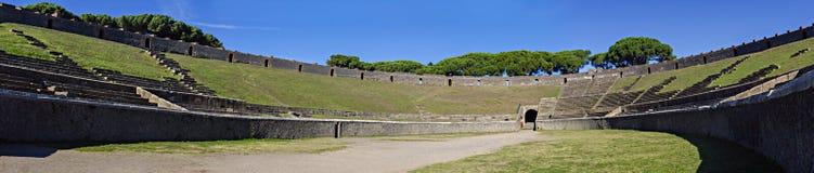 Anfiteatro de Pompeii Imagem de Stock