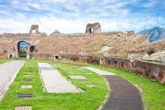 Anfiteatro de Santa María Capua Vetere Fotos de archivo