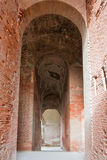 Anfiteatro de Santa María Capua Vetere Fotos de archivo libres de regalías