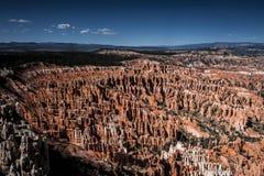 Anfiteatro di Bryce Canyon dal punto di Insparation Immagini Stock