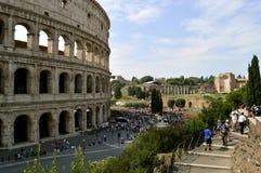 Anfiteatro di Colosseum a Roma Immagini Stock Libere da Diritti