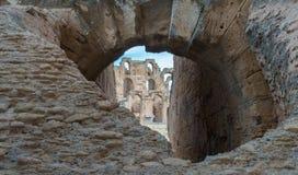 Anfiteatro di EL Djem (15) Immagini Stock Libere da Diritti