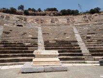 Anfiteatro do peru de Bodrum Imagem de Stock