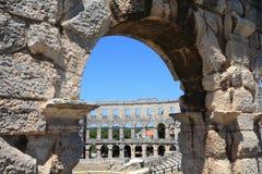 Anfiteatro dos Pula imagem de stock royalty free