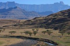 Anfiteatro Drakensberg foto de stock