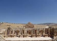 Anfiteatro em Jerash Imagens de Stock Royalty Free