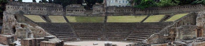 Anfiteatro em Trieste Fotografia de Stock