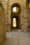 Anfiteatro en el EL Jem, Túnez fotos de archivo libres de regalías