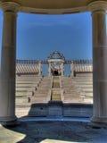 Anfiteatro en el parque Imagen de archivo libre de regalías