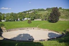 Anfiteatro en el Trier, Alemania Imágenes de archivo libres de regalías