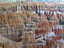Anfiteatro en parque nacional de la barranca de Bryce en Utah Imagen de archivo libre de regalías