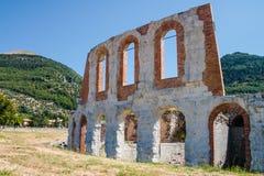 Anfiteatro Gubbio Στοκ εικόνες με δικαίωμα ελεύθερης χρήσης
