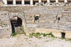 Anfiteatro. Lecce. Puglia. Itália. imagem de stock royalty free
