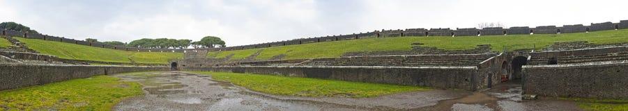 Anfiteatro na cidade romana antiga de Pompeii, Itália fotos de stock royalty free